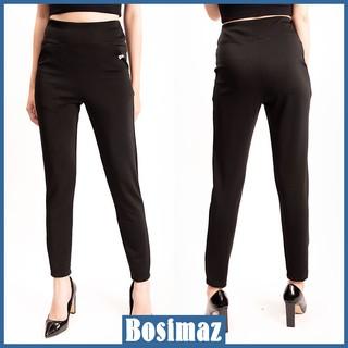 Quần Legging Nữ Bosimaz MS111 dài túi trước màu đen cao cấp, thun co giãn 4 chiều, vải đẹp dày, thoáng mát không xù lông thumbnail