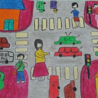 Tranh tự vẽ an toàn giao thông 🙄🙄🙄