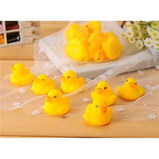 Bộ 20 chú vịt đồ chơi dùng trong phòng tắm cho bé- Đồ chơi nhà tắm- Vịt bóp bíp bíp Jika Store