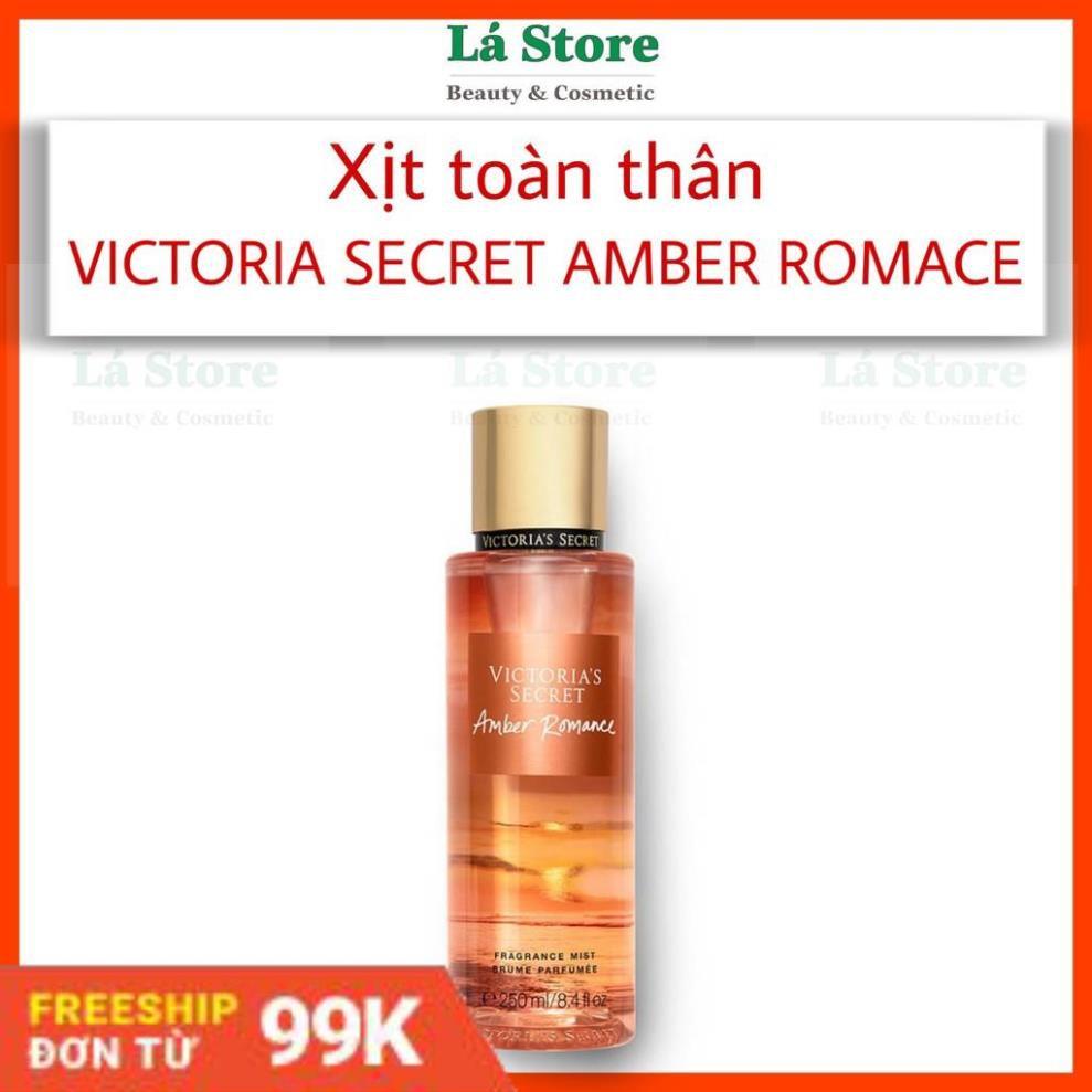 hàng chính hãng - Xịt toàn thân Victoria Secret Amber Romance Fragrance Mist