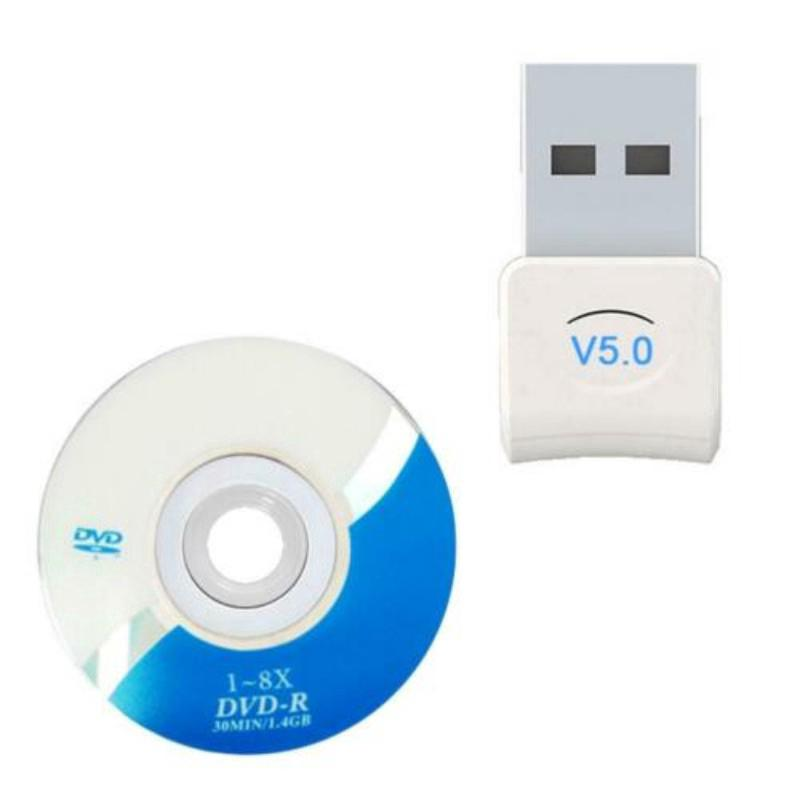 Wireless USB Bluetooth 5.0 Receiver Audio Transmitter Dongle Adapter for PC and Mobile Phone