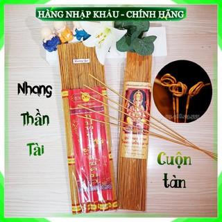 Hương Nhang Thần Tài Thái Lan Chính Hãng Hương Sạch Ít Khói Cuộn Tàn Tài Lộc [Tem Chính Hãng]