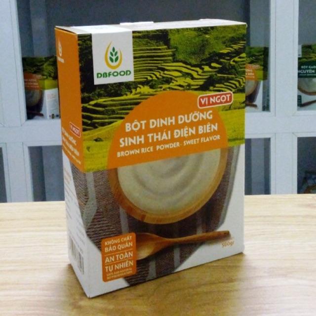 Bột dinh dưỡng gạo lứt sinh thái Điện Biên vị ngọt 500g - 2455707 , 171589069 , 322_171589069 , 180000 , Bot-dinh-duong-gao-lut-sinh-thai-Dien-Bien-vi-ngot-500g-322_171589069 , shopee.vn , Bột dinh dưỡng gạo lứt sinh thái Điện Biên vị ngọt 500g