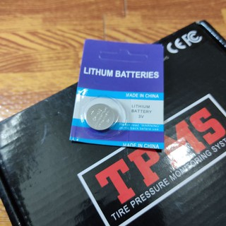 Pin cảm biến áp suất lốp cr1632 3v lithium thumbnail