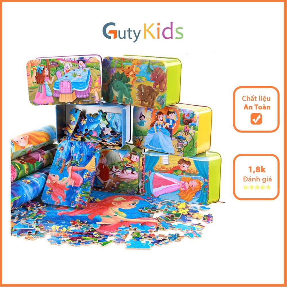 Đồ chơi ghép hình gỗ cao cấp - đồ chơi phát triển trí tuệ cho bé, Dành cho trẻ từ 3 tuổi trở lên ( Giao mẫu ngẫu nhiên )