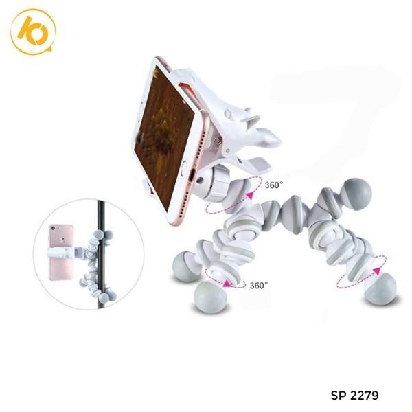 Giá đỡ điện thoại tiện ích, kệ để , giá kẹp, điện thoại hình cún cute - SP002279