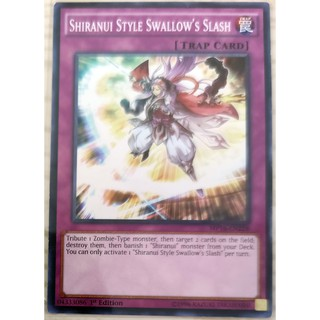 [Thẻ Yugioh] Shiranui Style Swallow's Slash