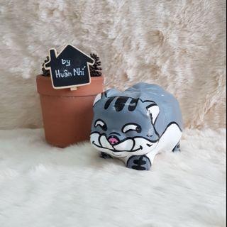 Heo đất handmade – mèo Ami