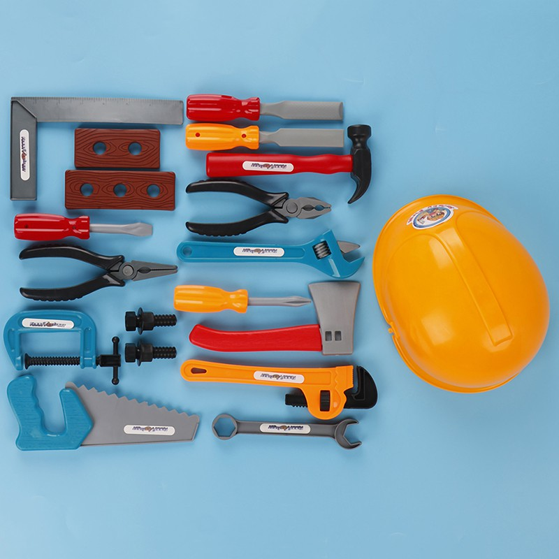 22Pcs/set boys toy building tools carpentry for children educational set