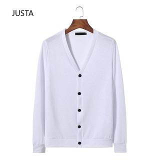 V-neck fashion fashion men's sweater cardigan New