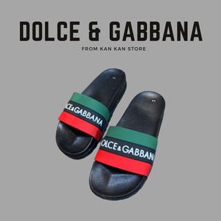 [Hàng Đẹp] Dép Lê Nam Đế Đúc D&G, Dép Quai Ngang Dolce Gabbana Cao Cấp Hot Trend Đôn Chề Siêu Bền