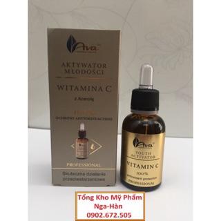 Serum Vitamin C Ava dưỡng trắng da, cải thiện thâm sạm