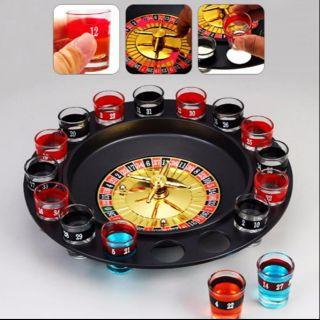 Vòng Xoay May Mắn – Drinking-Roulette 16 Glass