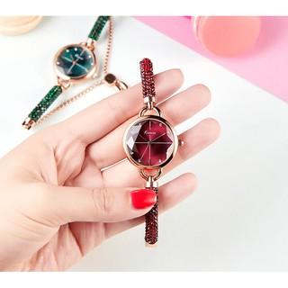 [Mã FASHIONXANH44 giảm 10% đơn từ 99K] Đồng hồ nữ Kimio 6328 dây đính đá siêu xịn thumbnail