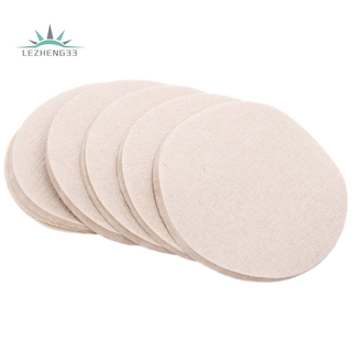 Reusable Replacement Paper Filters Unbleached Paper Coffee Filter Round Coffee Maker Filters Compatible (500 Pieces)
