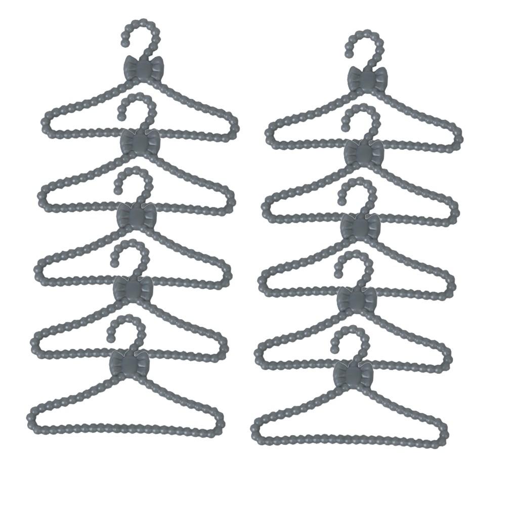 Bubble Shop61 12 Pcs Plastic Sized Clothes Rack Coat Hanger