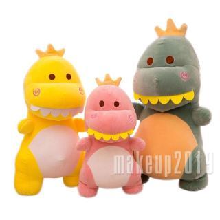 Mu♫-Dinosaur Plush Toy, Cute Dinosaur Pillow Adorable Soft Plush Stuffed Animal for Baby Girl Boy Kids Toddlers Teens