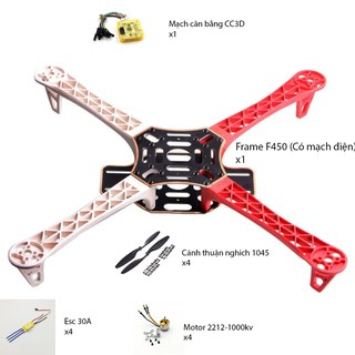 Combo kit quadcopter F450