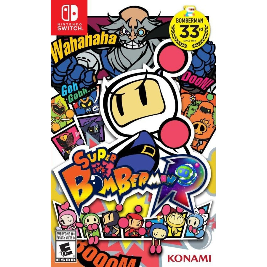 Đĩa Game Nintendo Switch Super Bomberman R - 3468803 , 749992157 , 322_749992157 , 1300000 , Dia-Game-Nintendo-Switch-Super-Bomberman-R-322_749992157 , shopee.vn , Đĩa Game Nintendo Switch Super Bomberman R