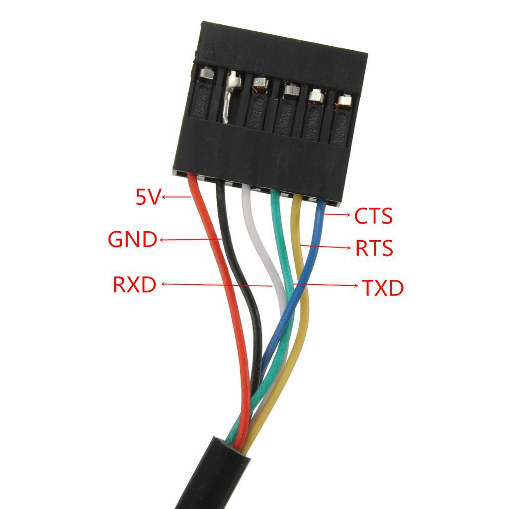 FTDI FT232RL Cable USB TO TTL USB to Serial adapter module RS232 Arduino 6Pins