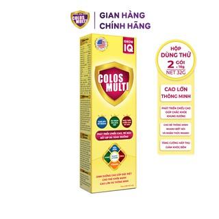 Sữa non Colosmulti IQ hộp 2 gói x 16g phát triển chiều cao và trí thông minh cho tre - MÂ U THƯ thumbnail
