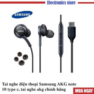 Tai nghe điện thoại Samsung akg note 10 type c, tai nghe akg chính hãng- Bh 12 tháng lỗi 1 đổi 1