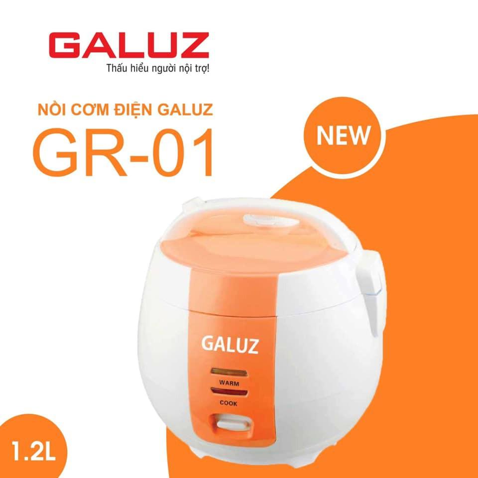 Nồi Cơm Điện Galuz GR-01 Dung Tích 1.2L - Bảo Hành Chính Hãng 12 Tháng