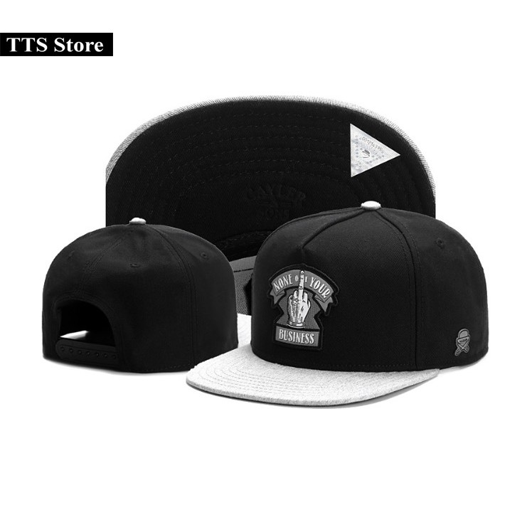 Mũ snapback hiphop vải kaki Caylor and Sons None of Your Busines - 9941715 , 1131366975 , 322_1131366975 , 400000 , Mu-snapback-hiphop-vai-kaki-Caylor-and-Sons-None-of-Your-Busines-322_1131366975 , shopee.vn , Mũ snapback hiphop vải kaki Caylor and Sons None of Your Busines