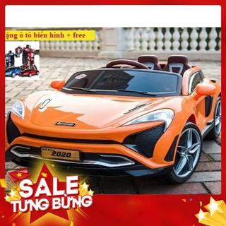 (M812) Xe ô tô điện trẻ em KuPai-2020 ( tặng ô tô biến hình + free ) – Siêu HOT