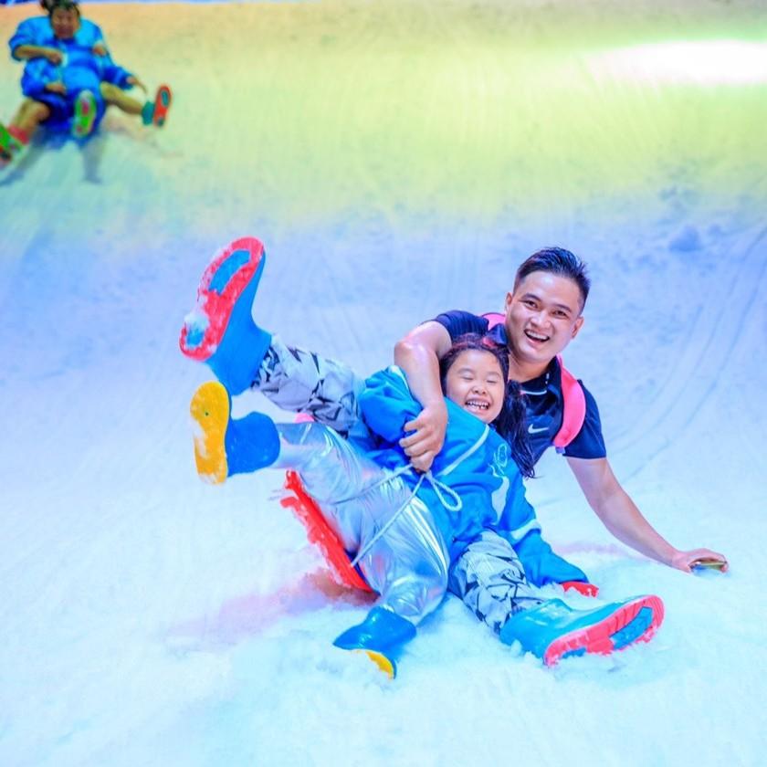 HCM [Voucher] 01 Vé giấy vào Snow Town mở cửa đón khách từ 01-07 khu vui chơi thành phố tuyết lớn nhất Sài Gòn