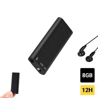[Mã ELFLASH5 giảm 20K đơn 50K] Máy ghi âm mini T2 bộ nhớ trong 8G - Ghi âm liên tục 15h