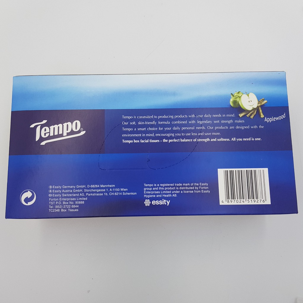 Khăn giấy hộp Tempo Jasmine 90 Miếng