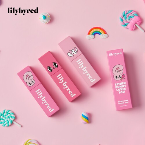[Limited] LILYBYRED - Son kem tint lì Mood Liar Velvet Tint bản Esther Bunny Loves You