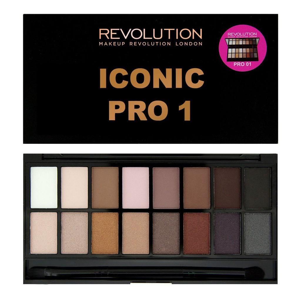 Bảng màu mắt Makeup Revolution Iconic Pro 1 Palette - 2501662 , 12529130 , 322_12529130 , 365000 , Bang-mau-mat-Makeup-Revolution-Iconic-Pro-1-Palette-322_12529130 , shopee.vn , Bảng màu mắt Makeup Revolution Iconic Pro 1 Palette