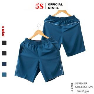 Quần Đùi Nam 5S (4 màu) Vải Gió Mềm, Siêu Nhẹ, Dáng Thể Thao (QSG001S1-03)