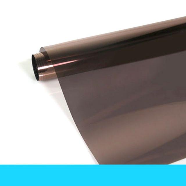 Decal dán kính cách nhiệt màu trà đậm