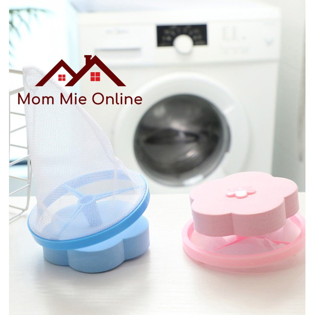 Phao lọc rác máy giặt giữ cặn xà bông, vải sợi - K046