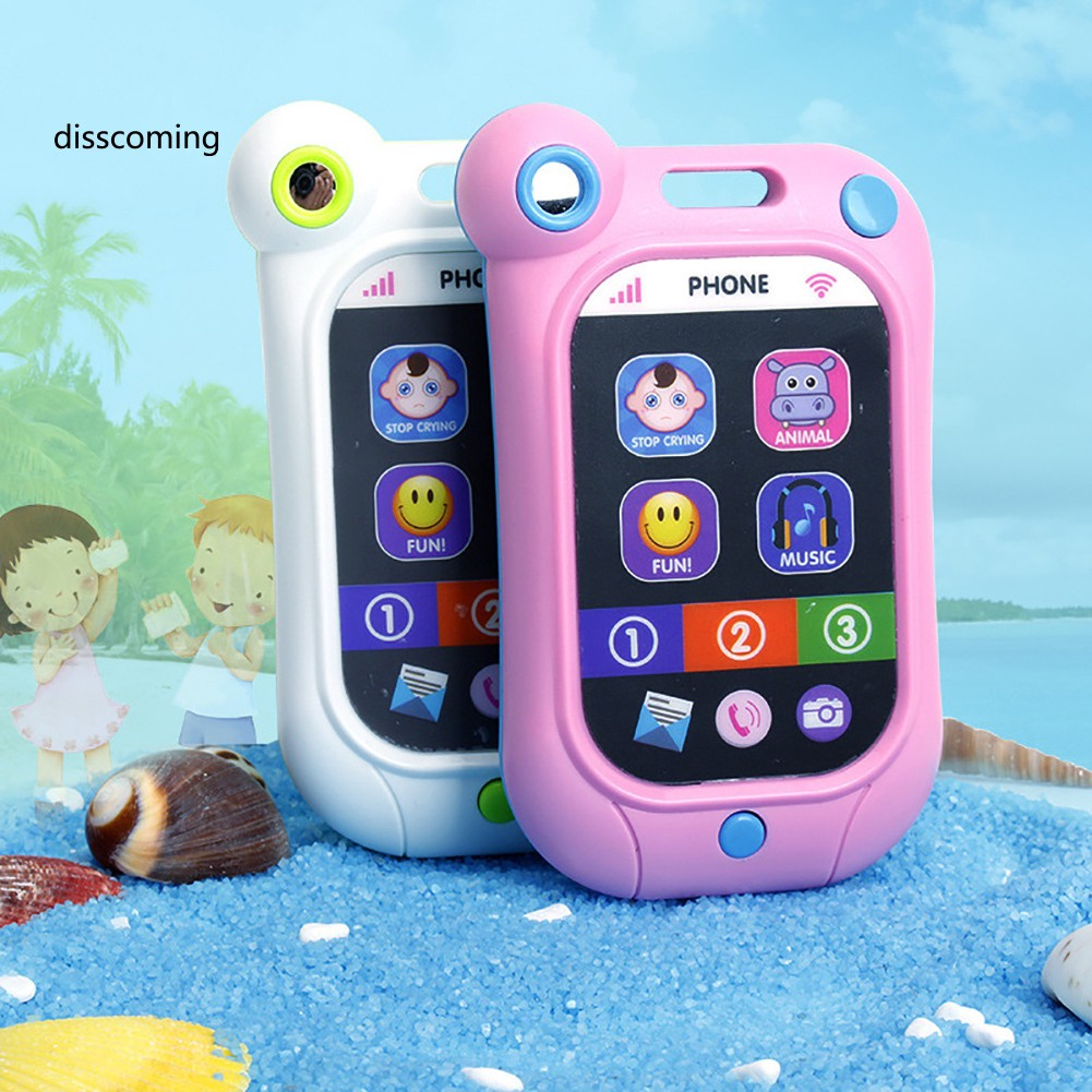 Baby Early Learning Simulation Touch Screen Smart Phone Cellphone Kids Toys