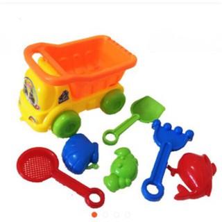Bộ đồ chơi xe xúc cát