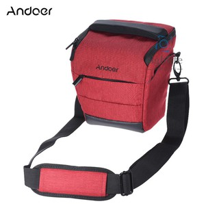 [silf]Andoer Portable DSLR Camera Shoulder Bag Sleek Polyester Camera Case for 1 Camera 1 Lens and Small Accessories for Fujifilm Olympus