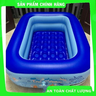 Bể bơi 1m2 + bơm điện + phao cổ_Hàng chất lượng cao