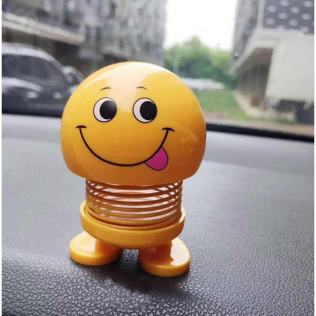 thú nhún lò xo emoji cảm xúc vui vẻ ngộ nghĩnh 5x7.5cm
