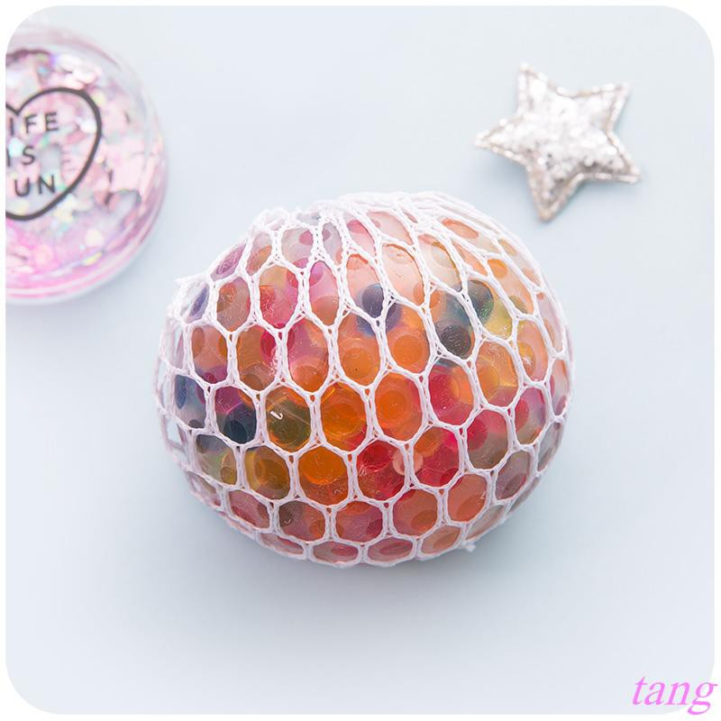 Silent love venting decompression grape ball pinching ball venting crystal beads