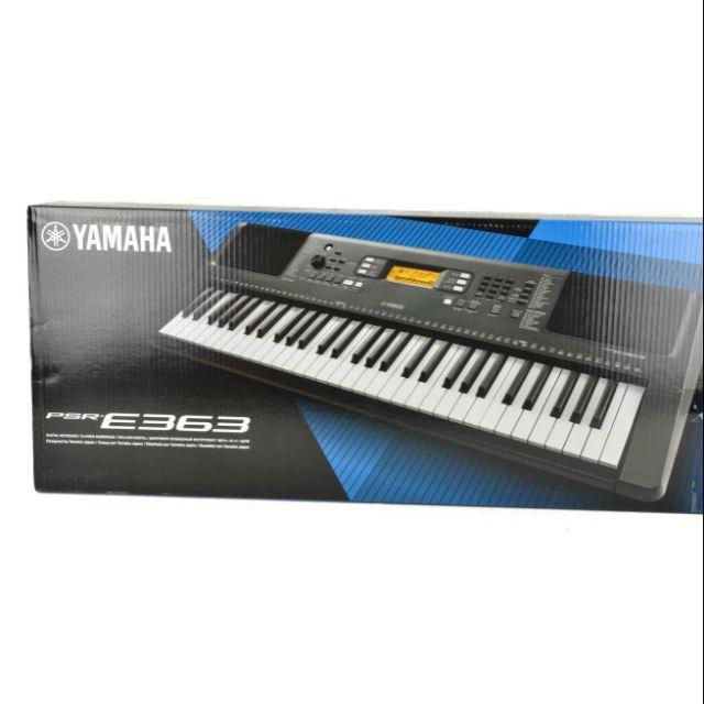 Review Giá đàn Yamaha Psr E363 Mới 100 Tặng Khóa Học đàn
