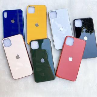 Ốp Lưng  Iphone 6/6s, 6 plus/6s plus, 7/8, 7 plus/ 8 plus, X/Xs, Xs max  kính cường lực viền mạ Crom