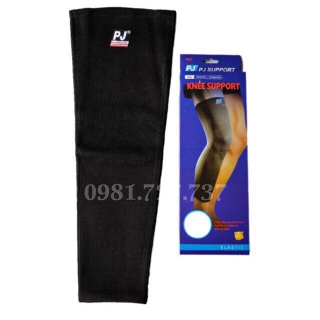 Băng bảo vệ đầu gối PJ dài - Bó gối PJ - Quấn gối PJ Bóng đá,bóng rổ,bóng chuyền