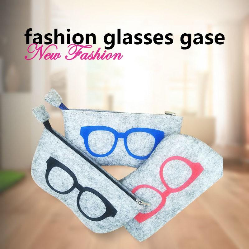 6237fd732a89c ❀ET❀ 1 Pcs Glasses Eyeglasses Sunglasses Storage Bag Pouch Zipper Portable  for Travel @