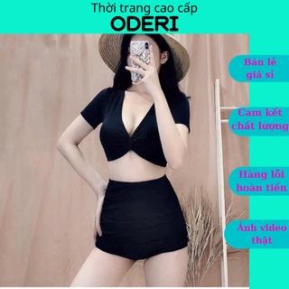 Bikini, Đồ Bơi Đi Biển Hai Mảnh Xoắn Ngực Nhiều Màu KG09290