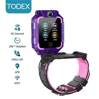 Đồng Hồ Thông Minh TODEX T10 Cho Trẻ Em Kết Nối 4G Chống Nước IP67 Camera Phía Sau 360° Gọi Video GPS+WIFI Hệ Android