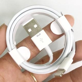 Cáp sạc Iphone ipad Foxconn siêu bền cho IP 5 6 7 8 X 11 dây dài 1m vào điện nhanh không kén máy KLH 3i 3